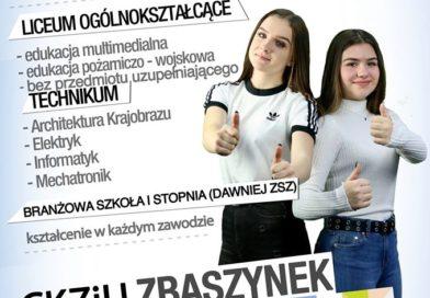 Ósmoklasisto, dołącz do nas!