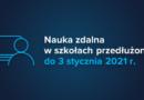 Zmiana organizacji roku szkolnego 2020/2021